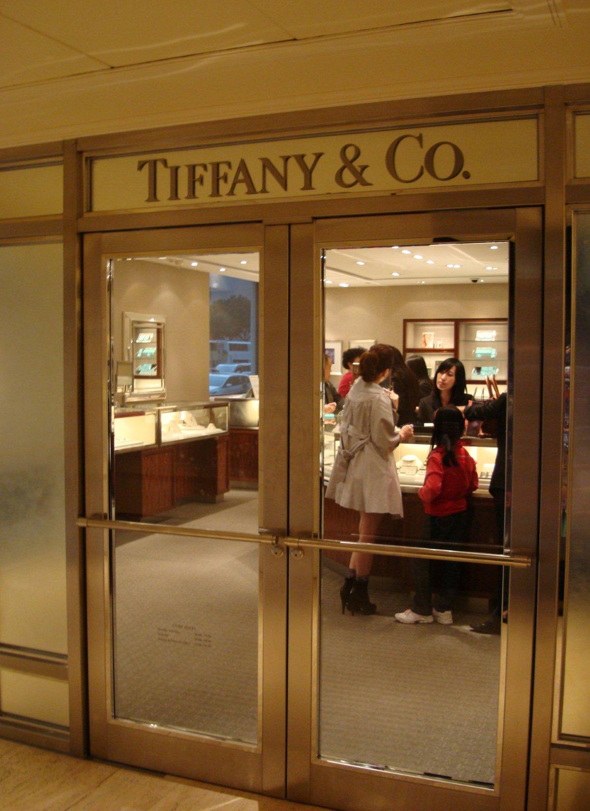 香港半島酒店的Tiffany