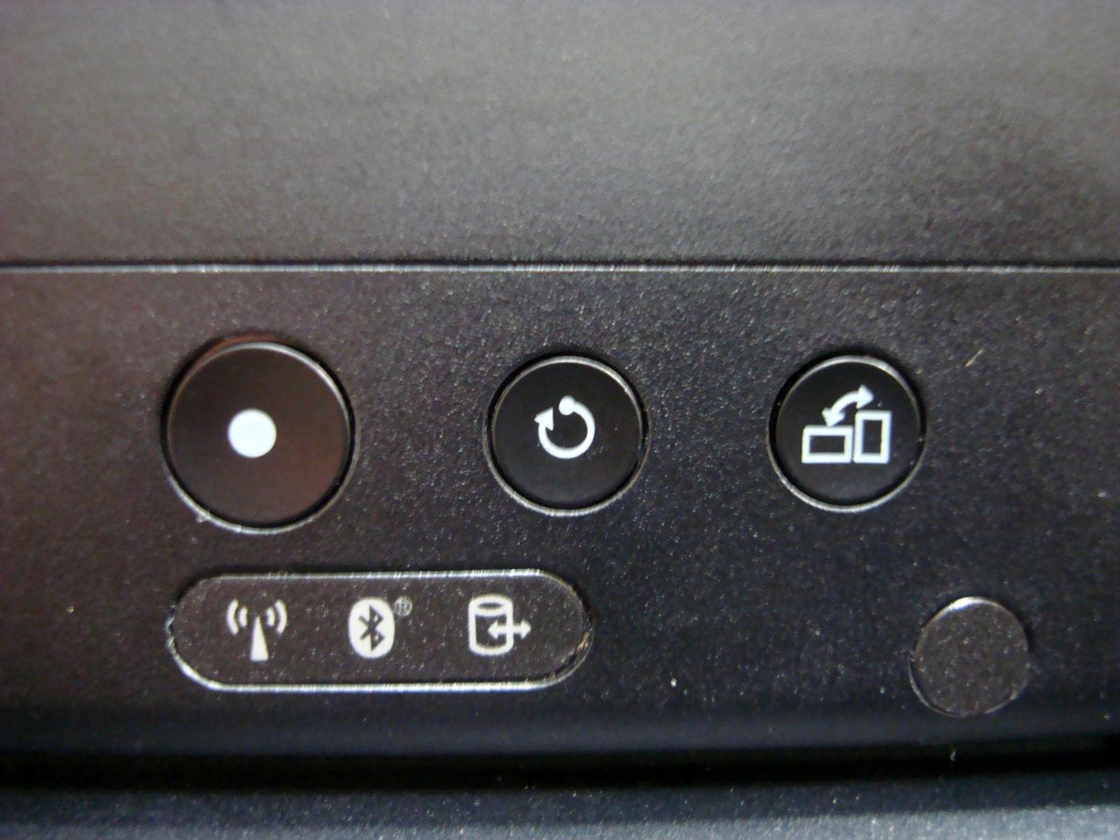 X220T螢幕上的按鈕