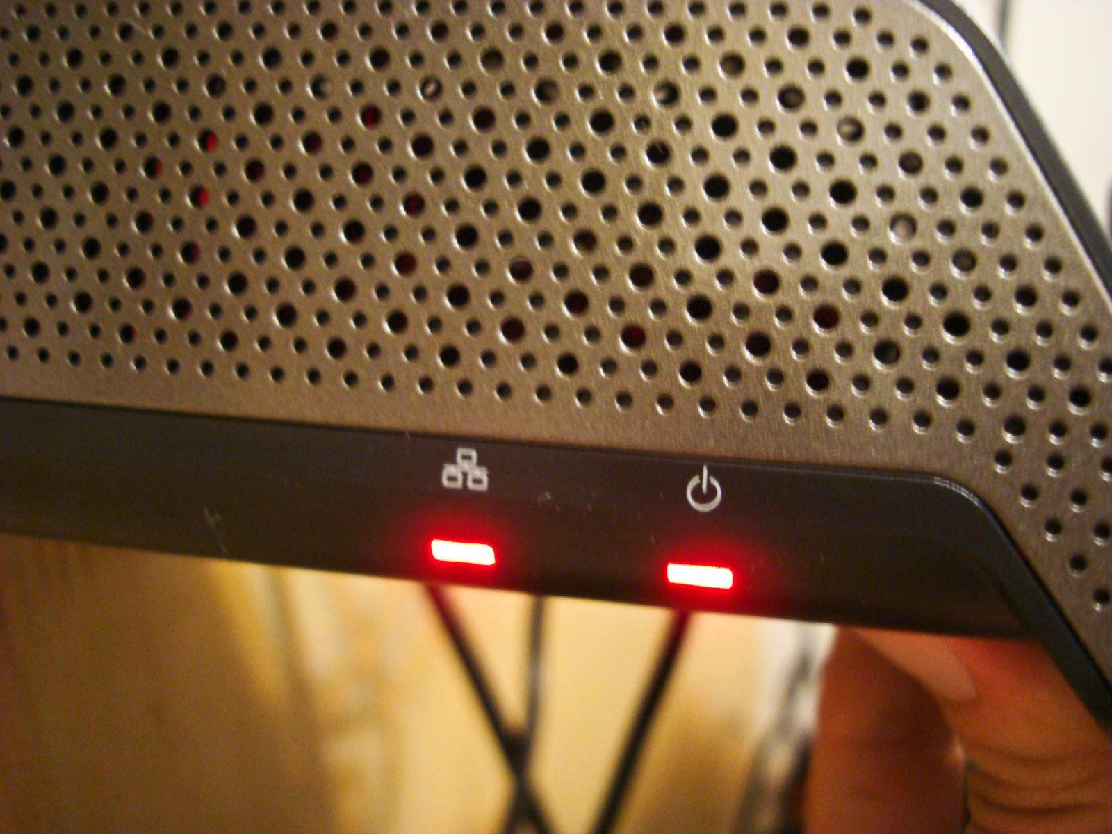 SlingBox Pro HD燈號
