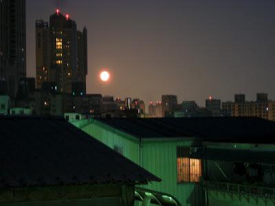 中秋的月亮真的是亮又園