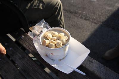 麵糊蛤蜊奶油湯
