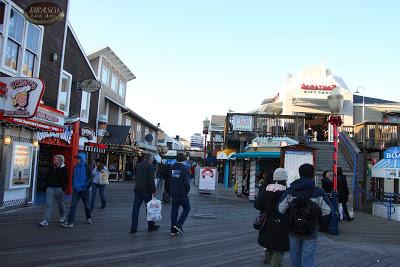 Pier39的商店街